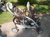 Double Stroller - Graco Quattro Tour Duo EXCELLENT
