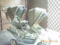 GRACO DUOGLIDER DOUBLE STROLLER IN GOOD CONDITION. MY