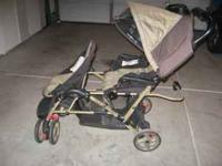 Double stroller in excellent condition. Sells for
