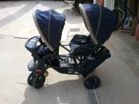 Great stroller. It just needs a good washing for it has