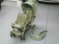 Used double stroller. Comes with weather/rain