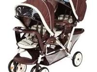 I am selling a graco duoglider lx stroller in brown and