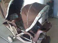This double stroller is in great condition! Used only