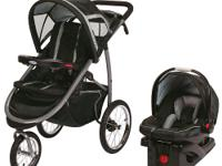 The Graco FastAction Fold Click Connect Jogger Travel