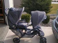 Very nice Graco Double stroller. We paid over $300.00