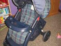 Graco Glider stroller nice condition, no fabric tears