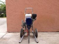 Used Graco GMAX 5000 Gas Powered Sprayer in very good