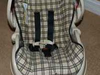 For sale is a Graco Snugride Infant Car Seat and Base