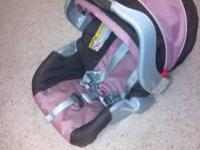 Graco SnugRide Infant Car Seat w/ base ($55)