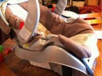 Have a Graco infant carrier with base for sale for $65.