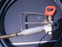 Up for sale is my Graco high pressure spray gun and 50