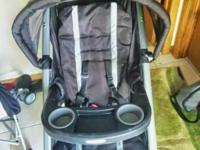 Used Graco FastAction Fold Click Connect Jogger. Been