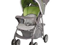 With the Graco LiteRider Stroller, you can stay light