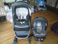 Graco Modes Click Connect Travel System-Francesca
