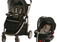 The Graco Modes Click Connect Travel System Stroller is