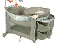 Graco Winnie the Pooh Pack-n-play. The mobile is