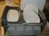 Graco Pack 'n Playard, includes removable bassinet and