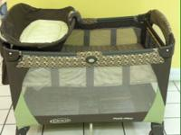 We have a beautiful Graco pack n play that includes a