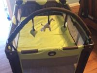 I have for sale a Brown and Green Graco Pack 'N' Play