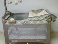 Graco Pack 'n Play playard Excellent condition with *an