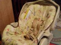 Infant car seat in gently used condition.  Expires