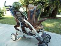 Brand new Craco Double stroller for sale. Market price