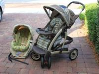 Selling almost brand new travel system, it's in