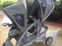 This Graco double stroller is in excellent condition.