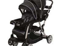 The Graco Ready2Grow LX Stand & Rider Stroller in