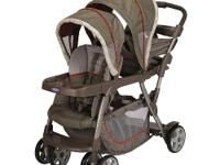 The Graco Ready2Grow Stand & Ride Stroller in