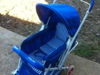 Graco Stroller also lets down to a bed. Folds quick and