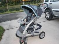 Graco stroller in excellent condition. It has a clock