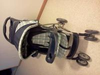 Graco stroller in good condition. Not used very much.