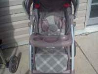 we have a nice graco stroller that almost looks new! it