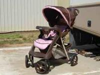 Graco stroller new never used. Does not have car seat.