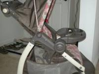 We have a great Graco stroller for sale that is only 8