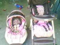 we are selling a graco stroller with car seat we are