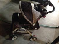 We have a matching GRACO stroller and car seat w/base