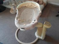 Graco sweetpeace infant calming swing. Retails for
