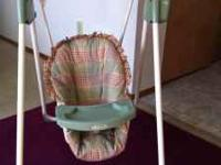 Baby swing is in good condition,6 speed ,15 songs,timer