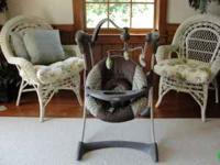 Graco Silhouette Swing - Lowery Our grandbaby only sat