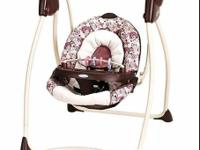 I have the matching high chair and swing from Graco for