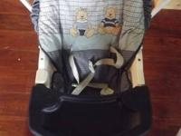 both the swing and matching high chair for sale for 80