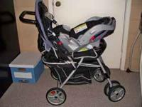 We have a Graco Travel system for sale including car