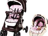 Includes stroller, carseat, and 2 bases. $225 value,