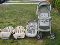 Hello! I have a Graco Travel System for sale. Sage