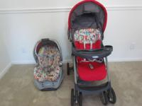 Great condition Graco lite rider click connect travel