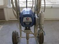 Graco Ultra 500 Airless Paint Sprayer. Also comes with