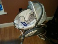 We are selling our Graco baby glider swing It is in