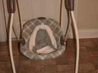 I have a Graco baby swing for sale $65.00. It plays